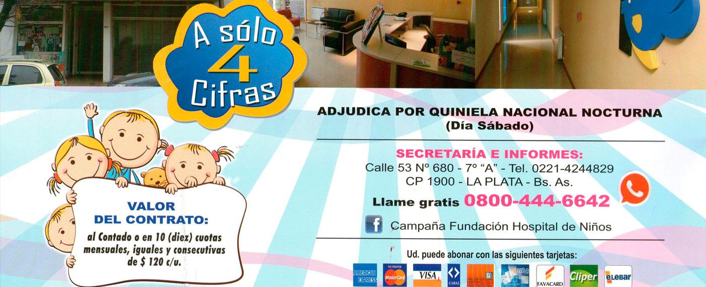 Rifa fundación hospital de niños